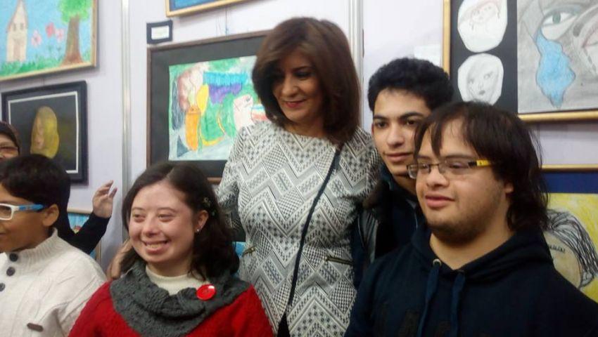 صور| وزيرة الهجرة: الأطفال ذوي الإعاقة  قوة حقيقية في المجتمع