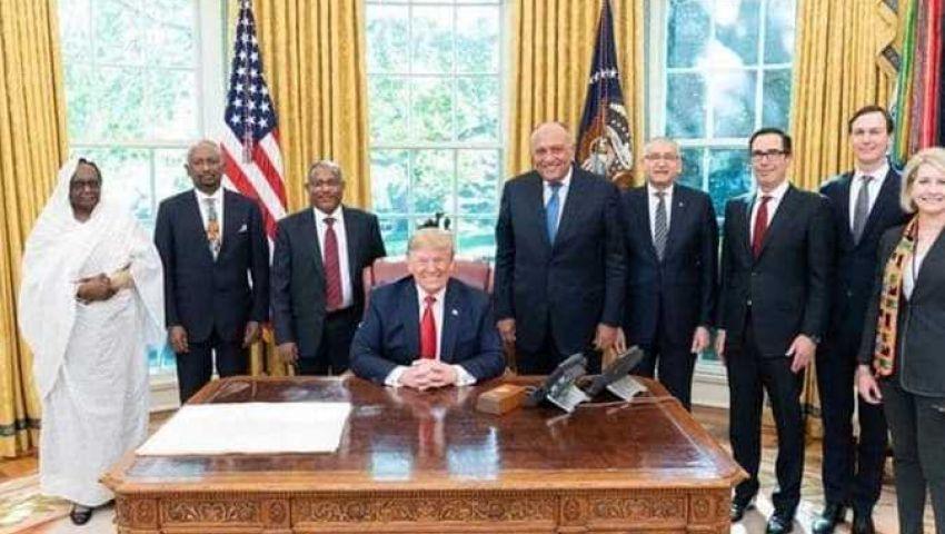 في  مباحثات واشنطن.. التزام بالوصول لحل أزمة سد النهضة في يناير 2020