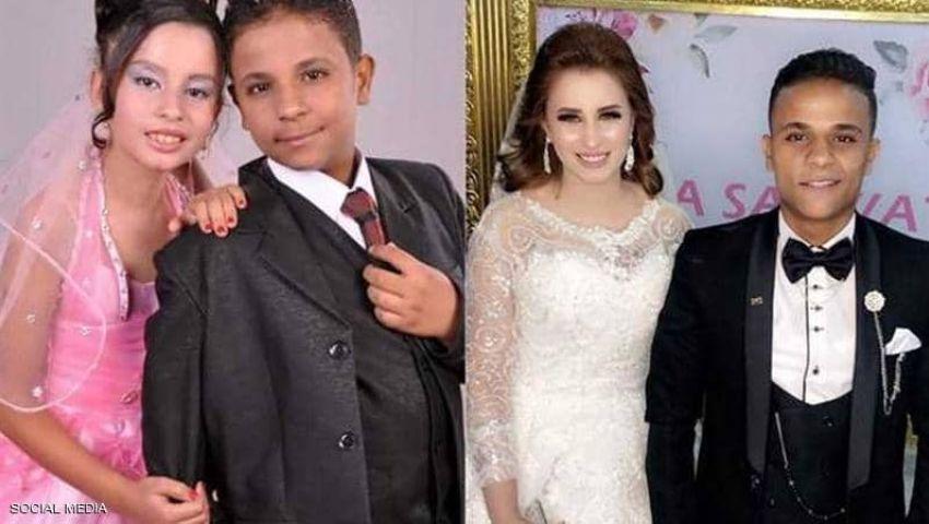 خطوبة من الطفولة.. أصغر عروسين في مصر يدخلان القفص الذهبي