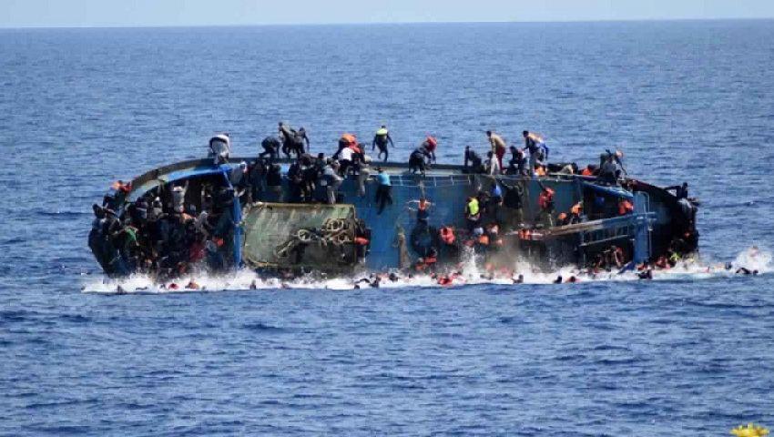 غرق زورق يقل 86 مهاجراً في البحر المتوسط قرب سواحل تونس
