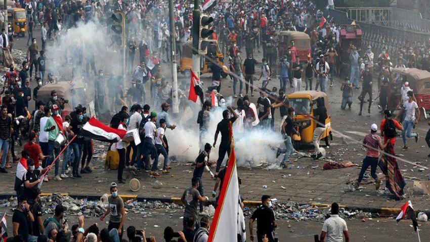 فيديو| شوارع العراق تغرق بدماء المحتجين.. حصيلة الاحتجاجات الأخيرة