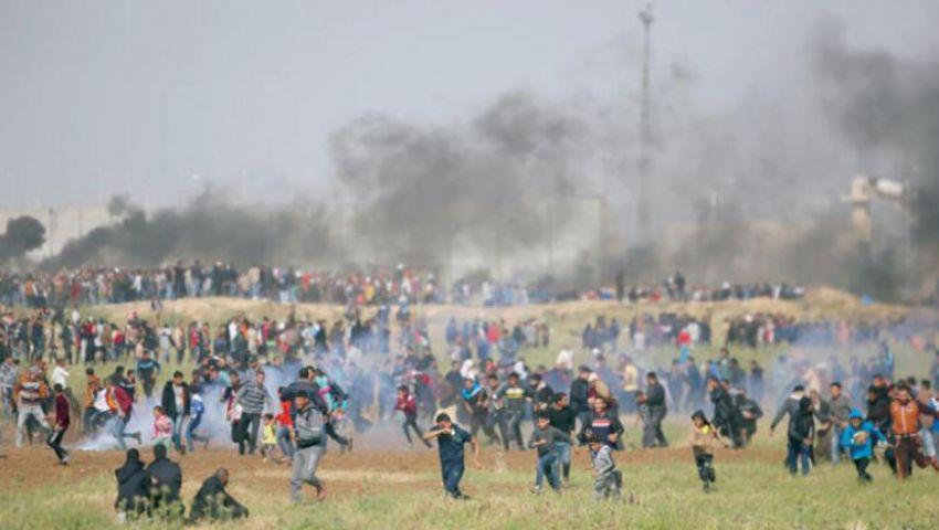 الاحتلال يقمع مسيرات العودة شرقي غزة ويُسقط ضحايا