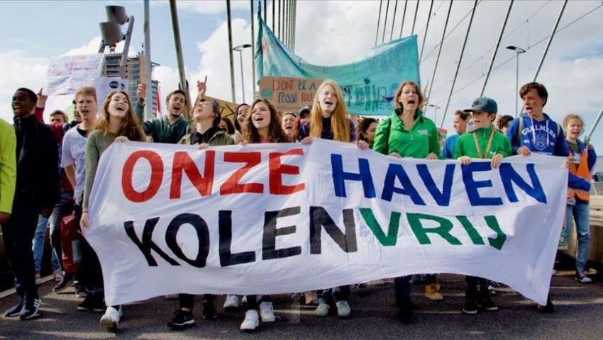 هولندا.. مظاهرة في روتردام ضد سياسات الحكومة حول المناخ