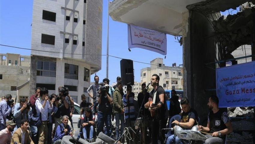 بالصور| بين الموسيقى والسياسة.. «غزة فيجن» تكشف الوجه الحقيقي لـ «يوروفيجن» إسرائيل
