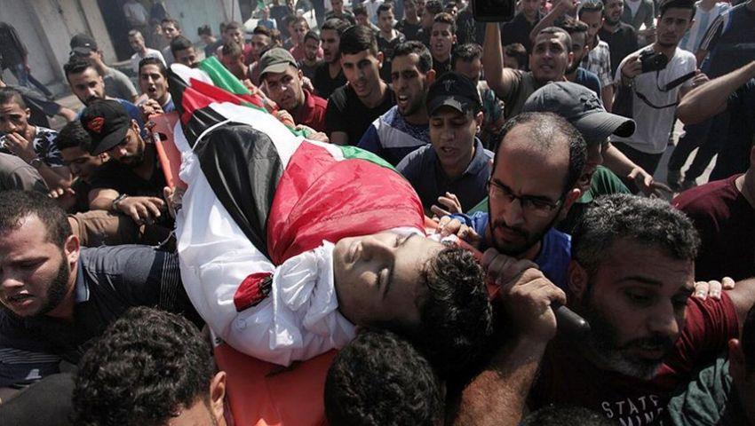 بعد جرائمه الوحشية.. إدانات حقوقية لاستهداف جيش الاحتلال المتظاهرين على حدود غزة