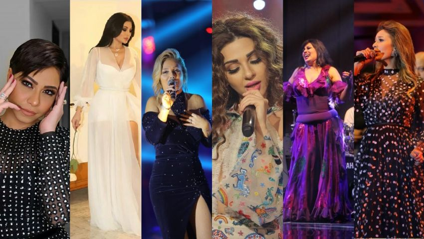 بكاء مريم فارس ولوك شيرين.. هكذا احتفل نجوم الغناء مع جمهورهم برأس السنة