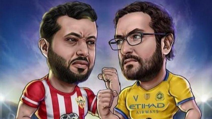 كسّر الشاشة.. أعمال شغب توقف مباراة آل الشيخ وآل سويلم (فيديو)
