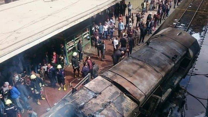 الصحة: ارتفاع عدد مصابي حادث محطة مصر لـ43