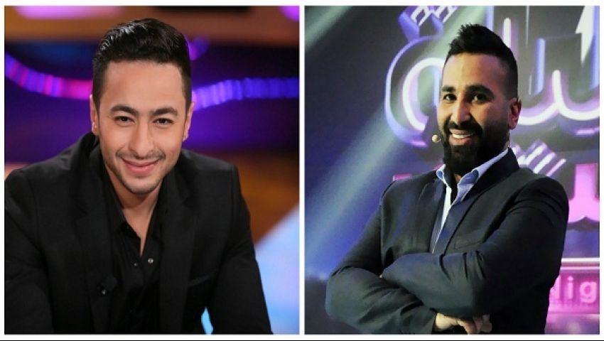 ديو غنائي لحمادة هلال وأحمد سعد  فى طاقة القدر