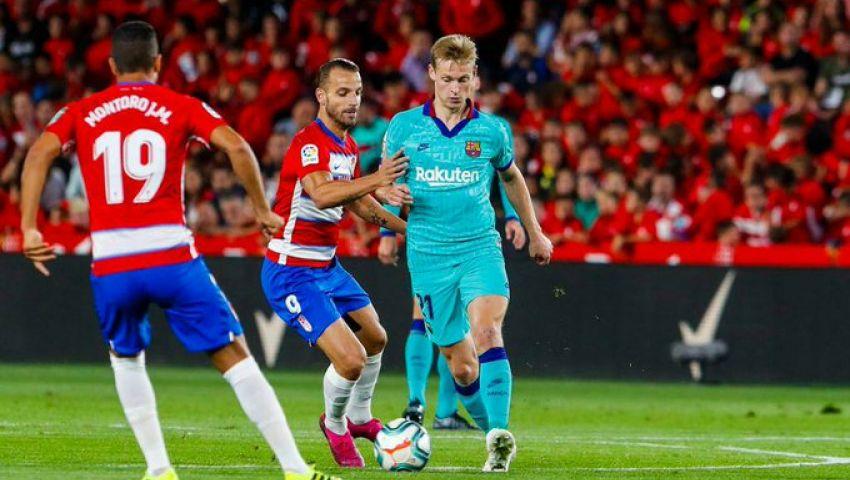 فيديو  5 أرقام سلبية لبرشلونة بعد الهزيمة أمام غرناطة