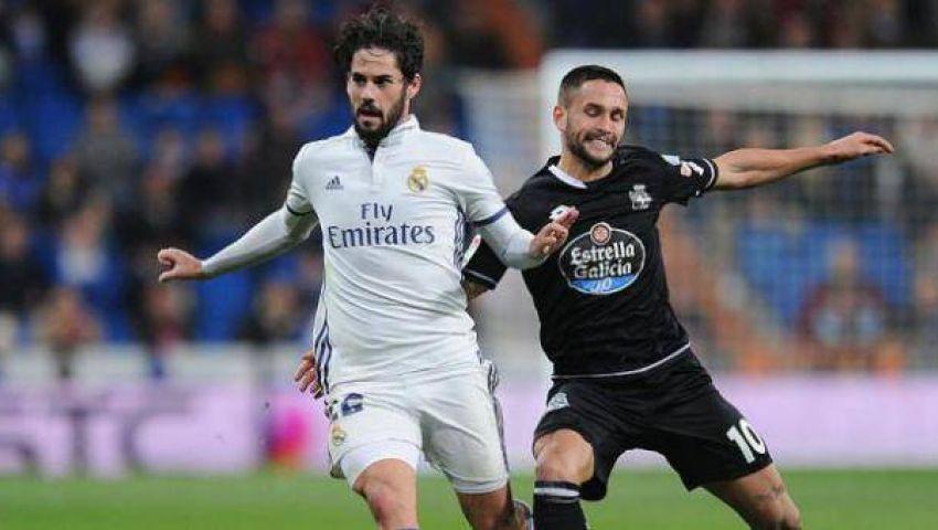 تقارير: ريال مدريد يتوصل للاتفاق مع ايسكو