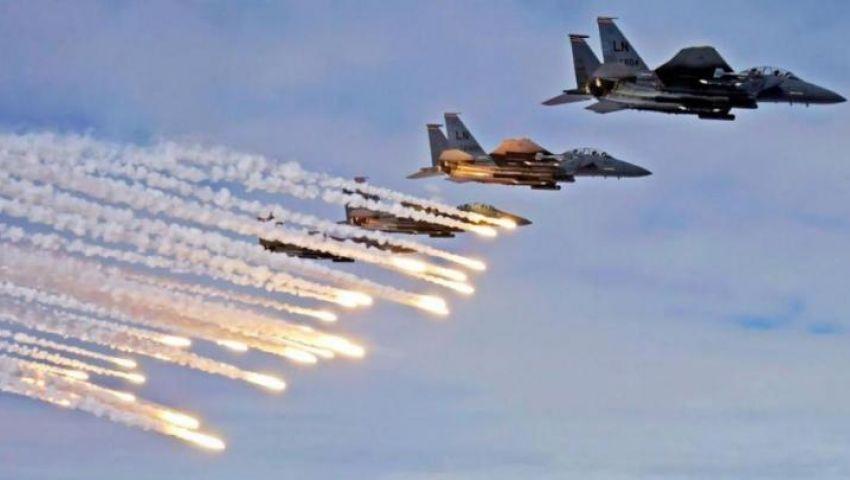 ماذا تفعل المقاتلات الأمريكية في سماء جنوب غرب ليبيا؟