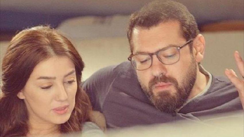 صورة| ماذا قال عمرو يوسف لكندة علوش في عيد ميلادها الأول بعد زواجهما؟