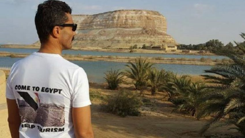 بالصور| نفي خالد النبوي لواحة سيوة