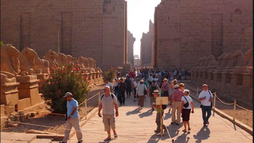«أرض الفراعنة» مقصدالسياح الألمان في عطلة عيد الفصح