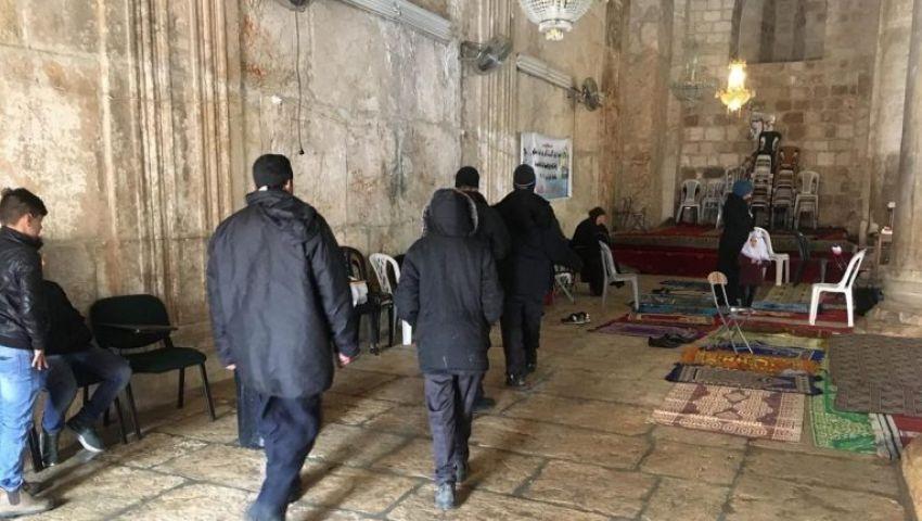 جرائم جديدة ضد الأقصى.. الاحتلال يصعد في مصلى باب الرحمة