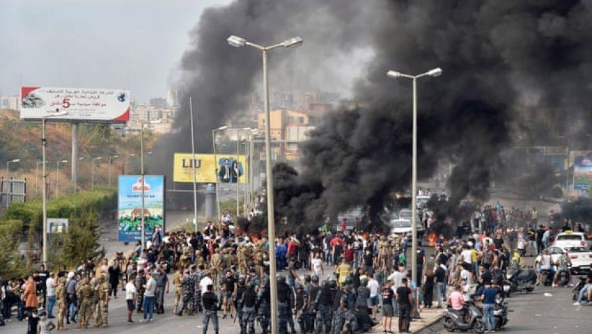 الجارديان: الاضطرابات تشل لبنان ومخاوف من انهيارها