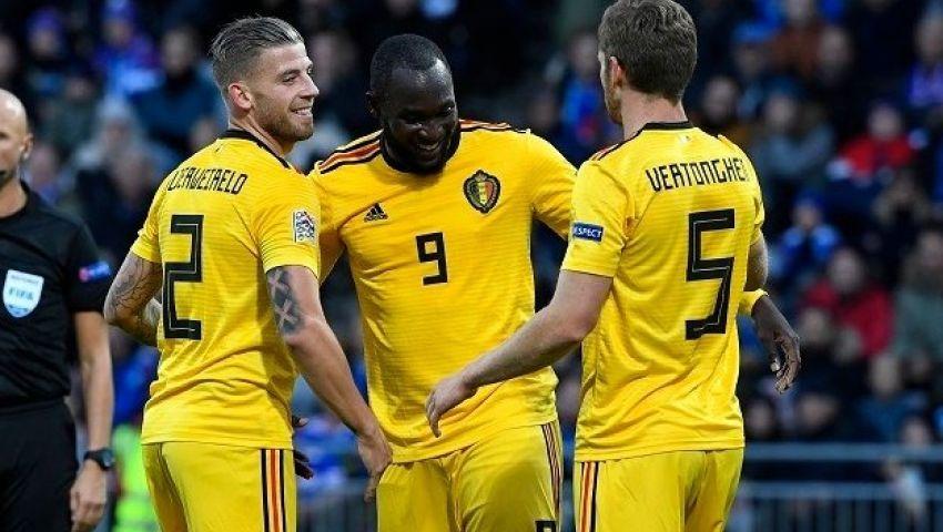 فيديو| بلجيكا تكتسح آيسلندا بثلاثية نظيفة في دوري أمم أوروبا