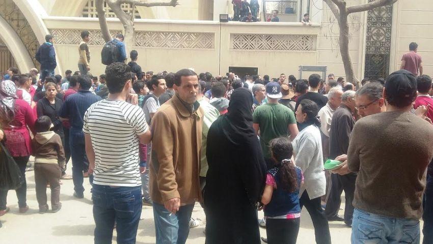 فيديو| آثار ضحايا تفجير كنيسة مارجرجس بطنطا
