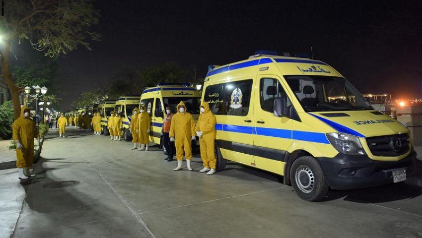 إصابة عدد من الفريق الطبي بكورونا.. تفاصيل غلق مستشفى بالدقهلية