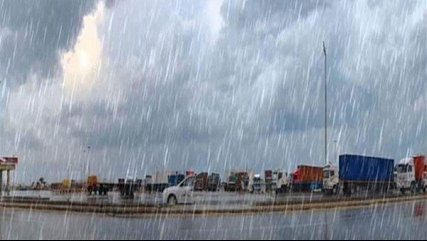 أمطار ورعد وبرق.. الأرصاد الجوية تحذر من طقس الـ72 ساعة المقبلة