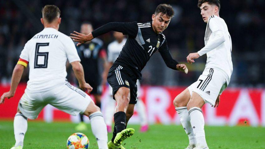 فيديو| في غياب ميسي.. الأرجنتين تقتنص تعادلاً مثيرًا من ألمانيا