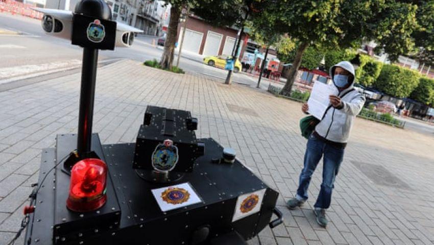 الجارديان: الشرطي الألي.. ابتكار تونسي يساهم في احتواء كورونا