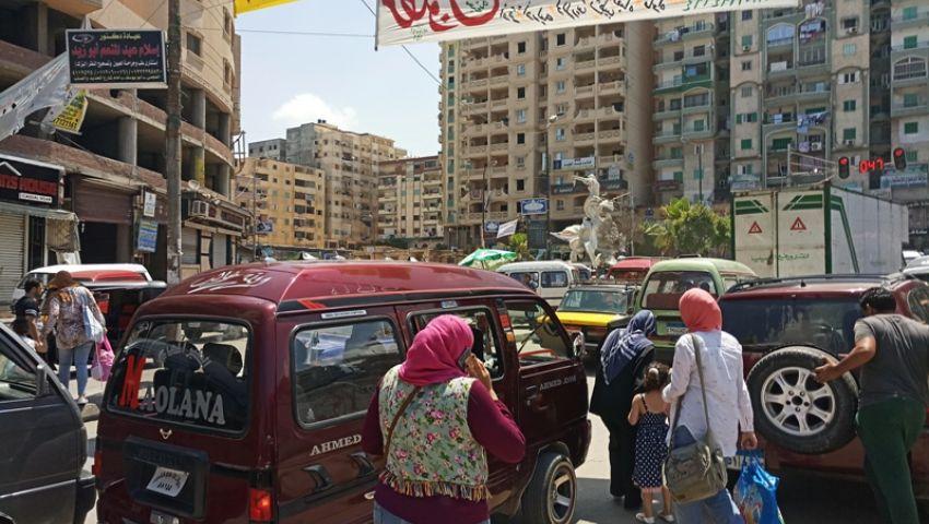 صور  تعمل أجرة برخصة «ملاكي».. أزمة «التمناية»  تتفاقم بالإسكندرية