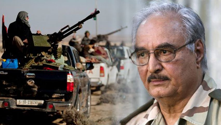 قوات حفتر تستعيد السيطرة على أكبر معسكرات طرابلس من قبضة «الوفاق»