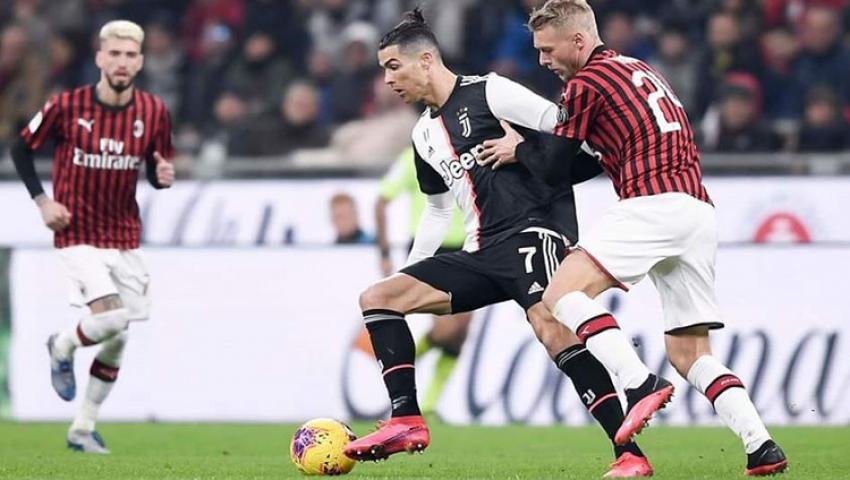 فيديو.. رونالدو يقود يوفنتوس لتعادل مثير أمام ميلان في كأس إيطاليا