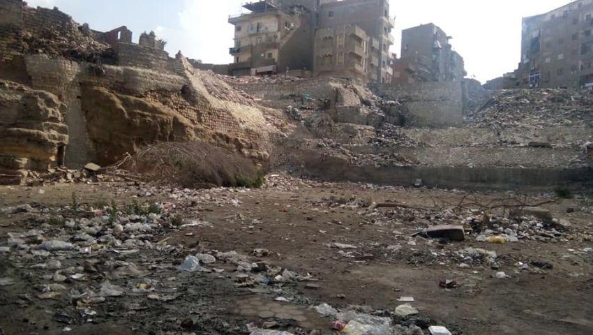 صور  قلعة الكبش.. هذا ما تبقى من ثالث عاصمة لمصر الإسلامية