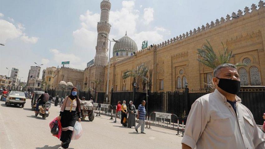 مصر تتخطى  حاجز الـ 15 ألف إصابة بكورونا وتسجل 16 حالة وفاة جديدة