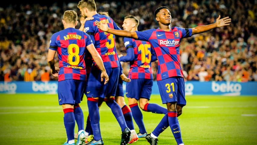 بالفيديو| برشلونة يكتسح فالنسيا بخماسية مذلة في الدوري الإسباني