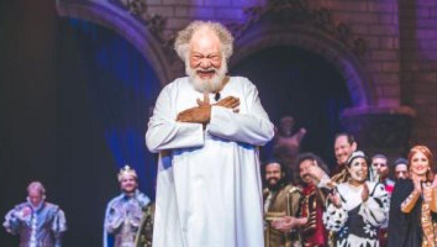 يحيى الفخراني: الملك لير إعاد إحياء المسرح