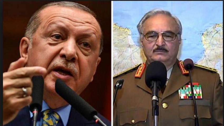 شبيجل: أردوغان وضع داعمي حفتر في مأزق عسكري
