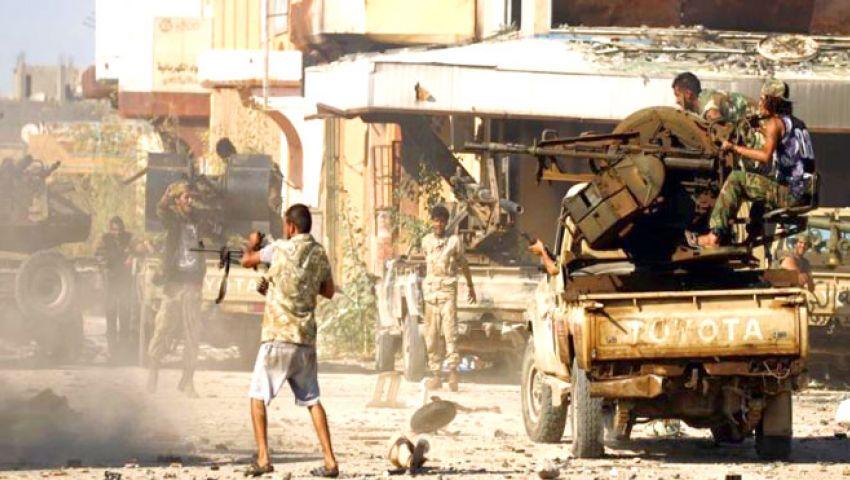 حرب حفتر والسراج تشهد الاشتباك الأعنف بليبيا.. ماذا حدث في عين زارة؟