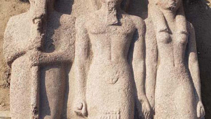 صور| بينهم تمثال لرمسيس الثاني.. المتحف المصري الكبير يستقبل 249 قطعة أثرية