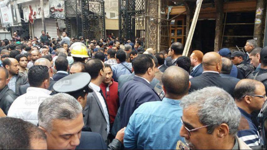 فيديو| شهود عيان يروون لـ «مصر العربية» تفاصيل انفجار الكنيسة المرقسية