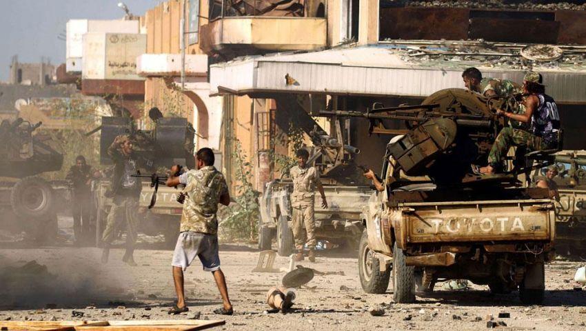 ليبيا.. الاشتباكات تتصاعد بين قواتحفتر وحكومة الوفاق بطرابلس