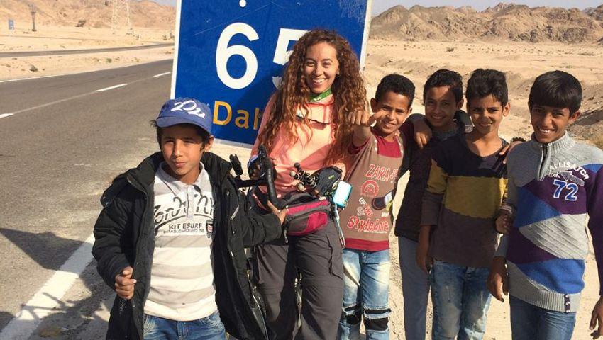 صور| «مصر آمنة».. مغامرة همسة من «القاهرة لسيناء» في 8 أيام بـ«العجلة»