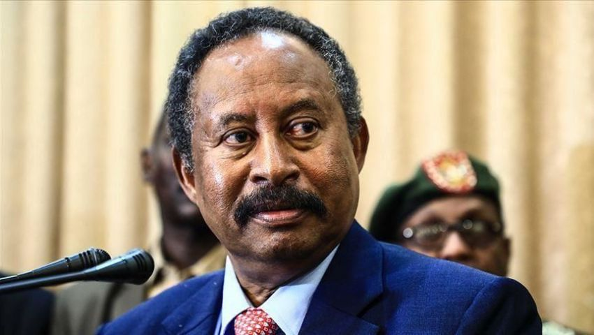 حمدوك: بدء اتصالات مع واشنطن لرفع السودان من قائمة الإرهاب
