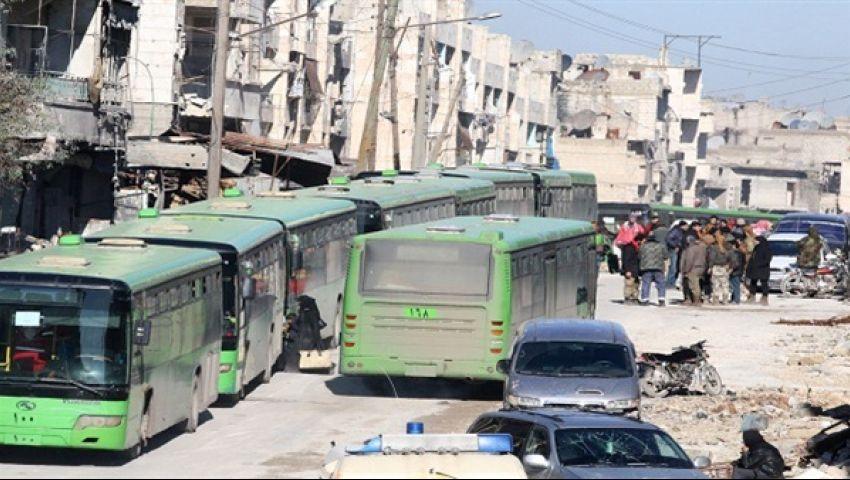 اتفاق جديد بإخلاء الفوعة وكفريا بريف إدلب