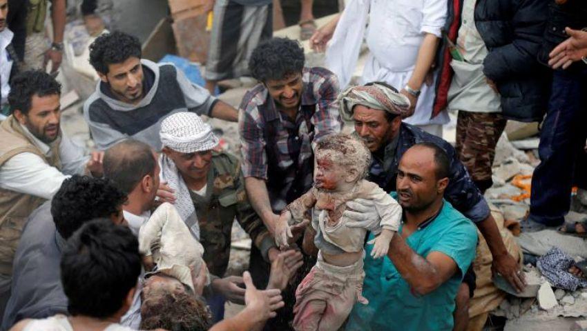مقتل وإصابة 16 طفلاً يمنيًّا في قصف حوثي خلال عيد الفطر