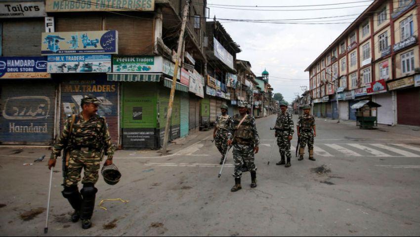 الهند تعاود فرض قيود على التنقل.. القبضة الأمنية تتوحش في كشمير