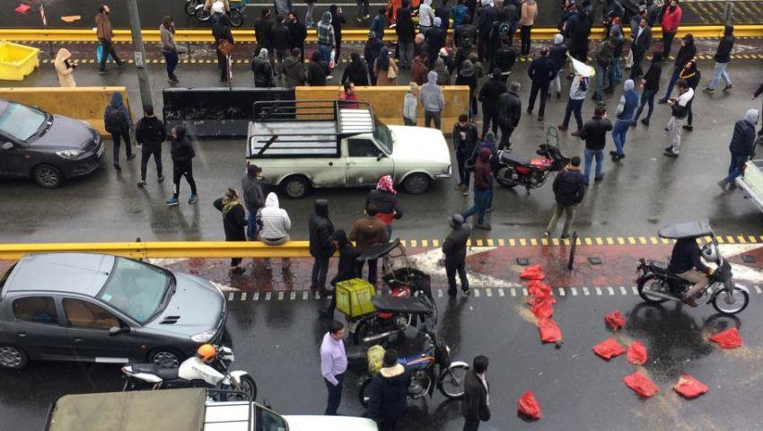 الاحتجاجات تؤجل 4 مباريات في الدوري الإيراني