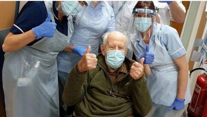 عمره 101 عاما.. شفاء أكبر شخص في العالم من فيروس كورونا
