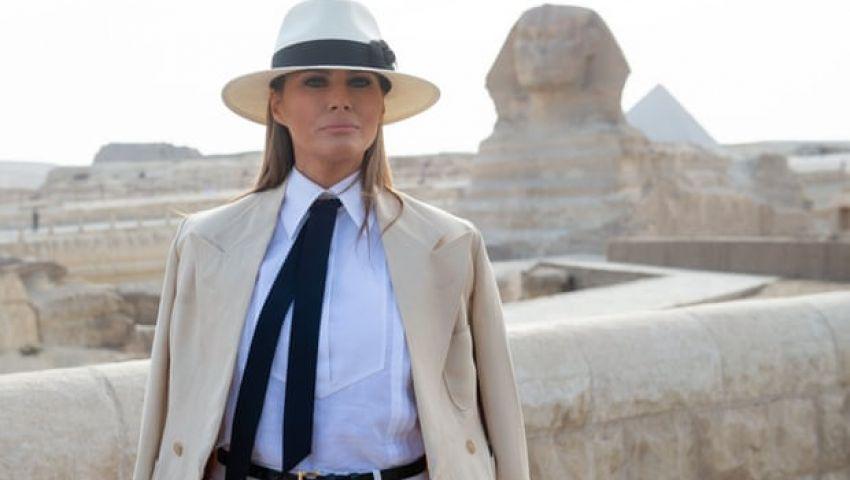 الجارديان: زيارة ميلانيا لمصر.. دليل على صداقة ترامب والسيسي
