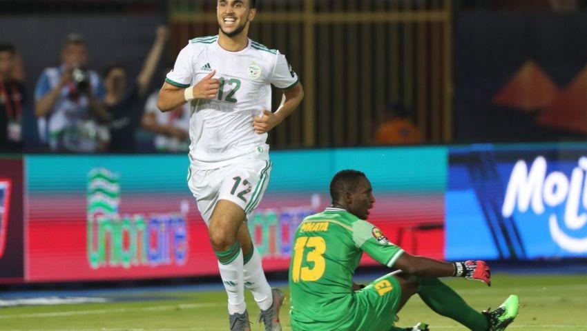 فيديو| أمم أفريقيا 2019..  بـ «البدلاء» الجزائر تقهر تنزانيا بثلاثية نظيفة