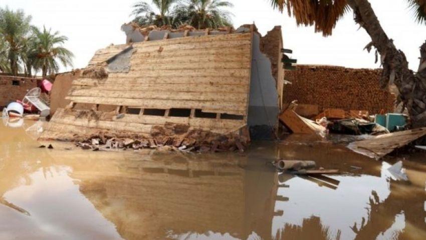 فيضانات السودان.. مصرع 78 شخصًا وتدمير آلاف المنازل (فيديو)