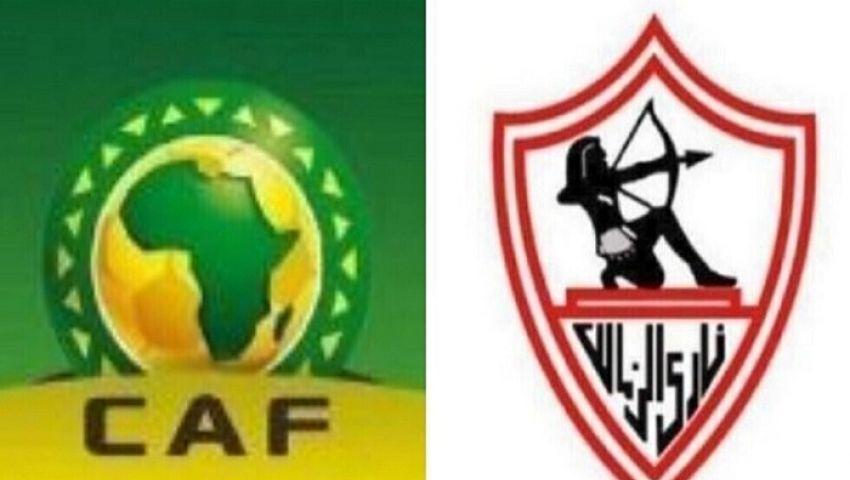 «الكاف» يوقع غرامة مالية على اتحاد الكرة بسبب الزمالك
